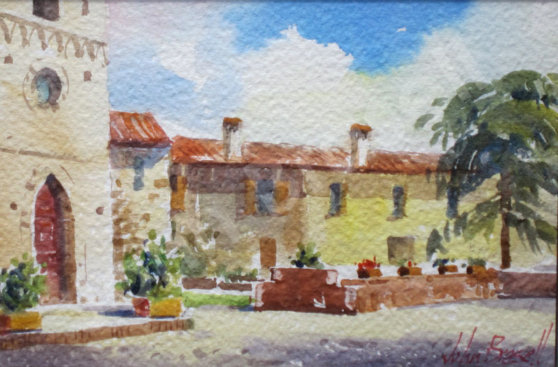 Watercolour by John Brasell